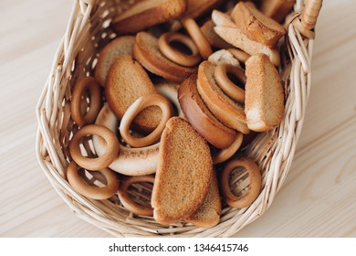 Donuts, bagels, crackers. Bakery products. Belarusian food products.
