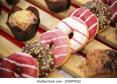 Donuts and bakery's goods