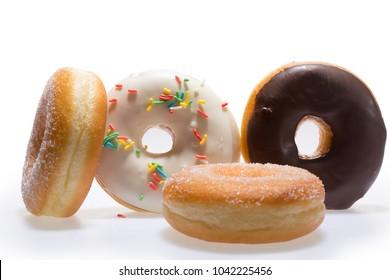 Donuts tasty fresh