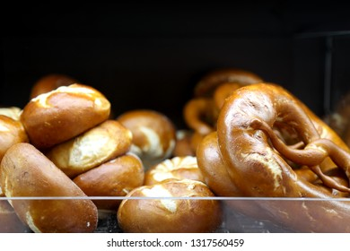 Donut-shaped bakery products