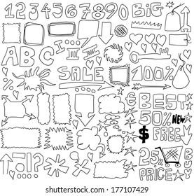 Doodle sale design elements