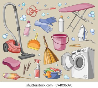 Doodle  set of cleanup