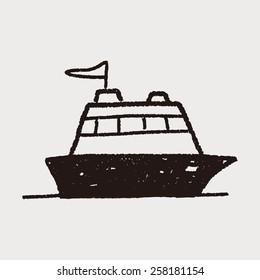 doodle yacht