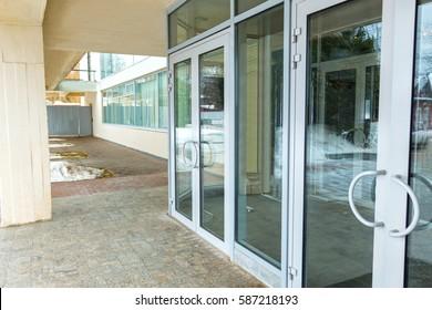 Aluminum Door Images, Stock Photos & Vectors | Shutterstock on