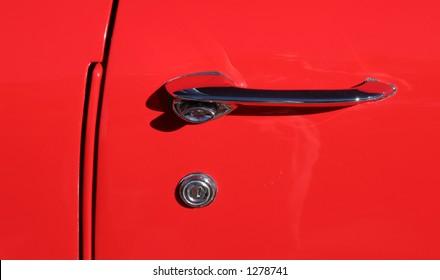Door of a '57 Chevy