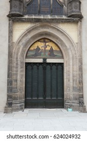 door of  the All Saints' Church in Wittenberg, Germany