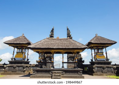 The Door of Besakih Temple  in Bali Indonesia