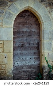 Door at Beynac-et-Cazenac, France