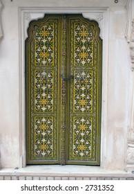 door in Bikaner (North-East India)
