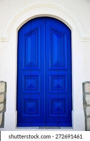 Door in blue-Kastellorizo