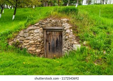 The door to the cellar.