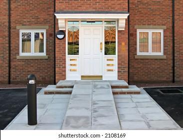 Door do apartments with ramp