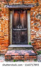 Door to former
