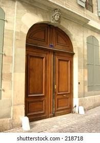 Door in Geneva, Switzerland