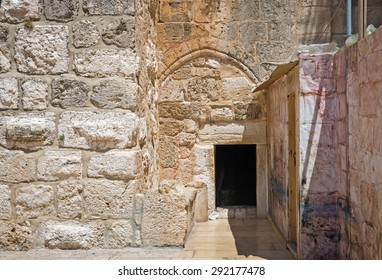 The Door of Humility, main entrance into the Church