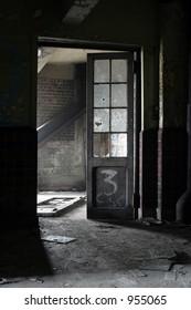 door inside mine