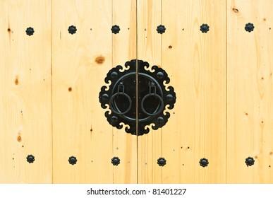 Door knob in Korean style