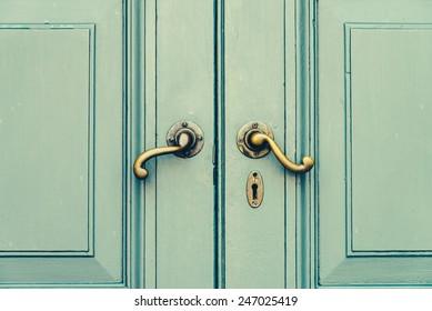 Door Knob   Vintage Effect Style Pictures