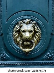 Door knocke - lion head