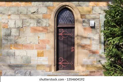 Door of the Nicolai church in Lippstadt, Germany