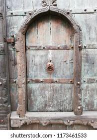 The door old design. Netherlands Texel