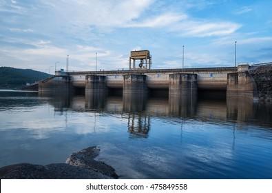 Door open water for dam catchment