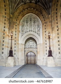 Door of the Palace of Westminster