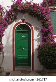 Door, Puerto de Mogan, Gran Canaria