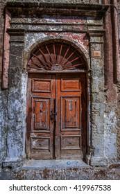 Door. Rhodes Greece.