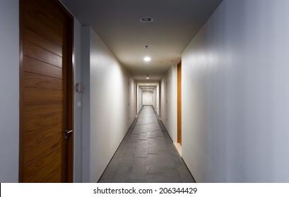 Door rooms in dorm or apartment condominium
