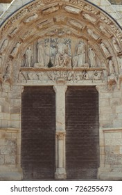 Door in the town of Saint-Émilion, France