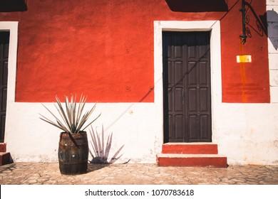 The door in Valladolid, Mexico