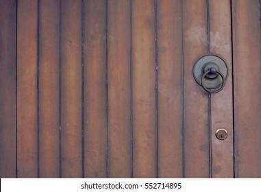 door in vintage.