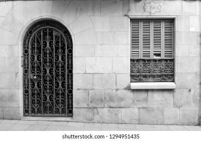 Door and window housing 1766