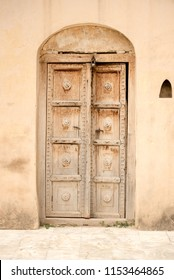Door and windows of incient katas raj temple chakwal punjab pakistan