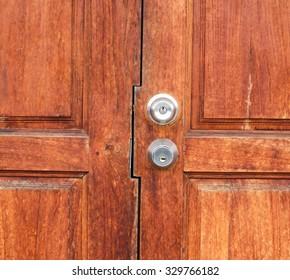 Door wood background.