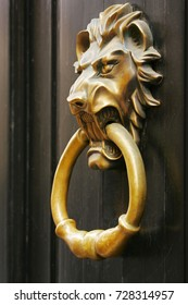 doorknob - lion