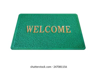 doormat isolated on white background