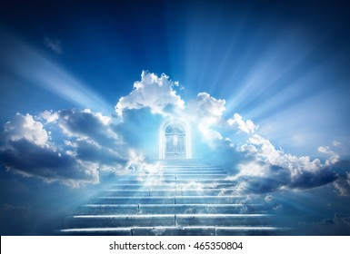 Doors to Paradise. The concept on religions and philosophical topics. & Heavens Door Images Stock Photos \u0026 Vectors | Shutterstock
