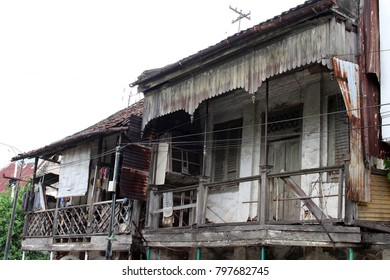 The doors and windows around Kota Lama (Old Town), Semarang, Indonesia. Many old buildings, abandoned ones, and even colonial architecture. Pic was taken in January 2018.