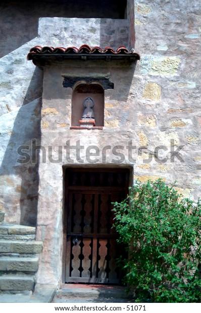 Doorway - Carmel mission
