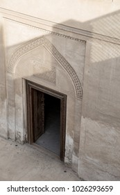 A doorway inside the Al Khalifa House in Muharraq, Bahrain.
