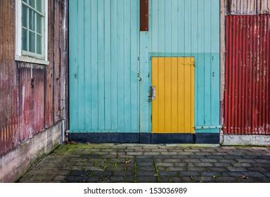 doorway, Launceston