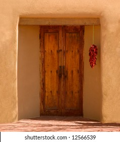 Doorway of a New Mexican house : southwest doors - Pezcame.Com