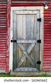 Doorway to Red Barn