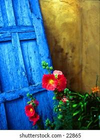 Doorway in Santa Fe.