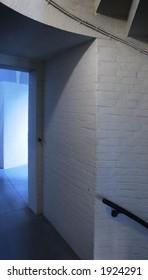 doorway and stairs at Garfield Memorial