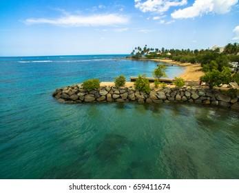 Dorado beach in the island of Puerto Rico.