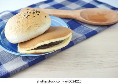 dorayaki japanese food. japanese pancake.