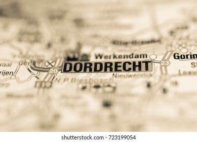 Dordrecth on map.